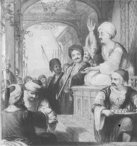 Кофейня в Оттоманской империи – блог обжарщиков Torrefacto