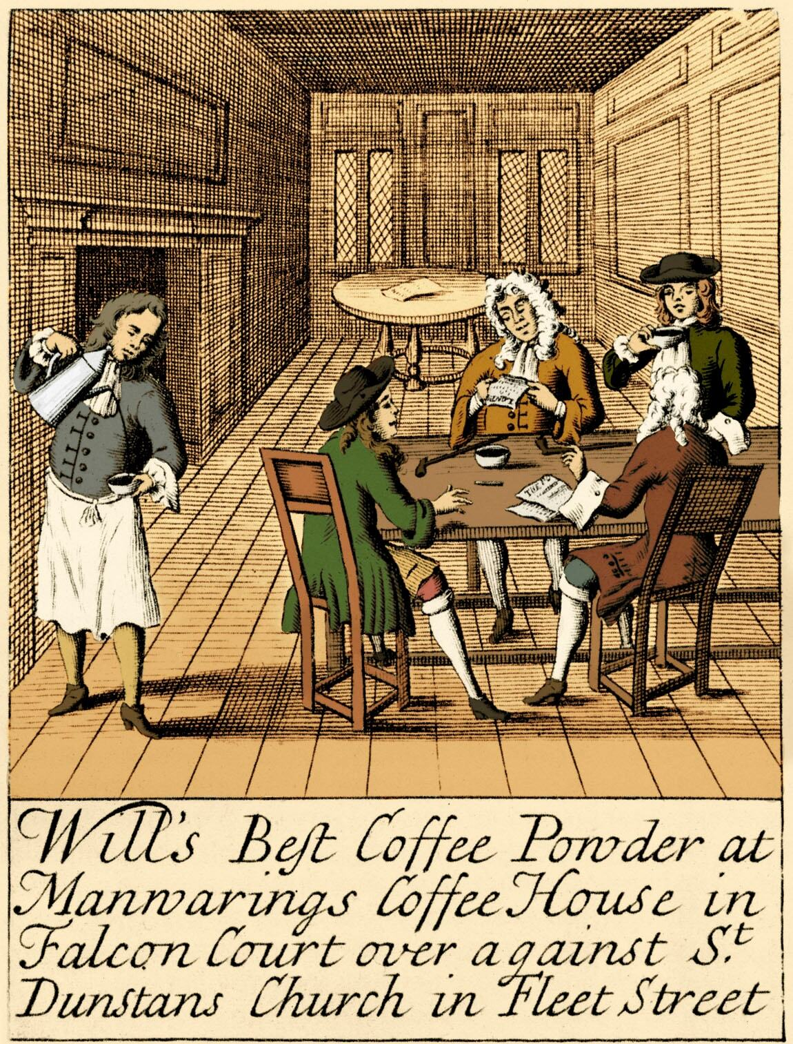 Как появление кофе и кофеен повлияло на Англию.