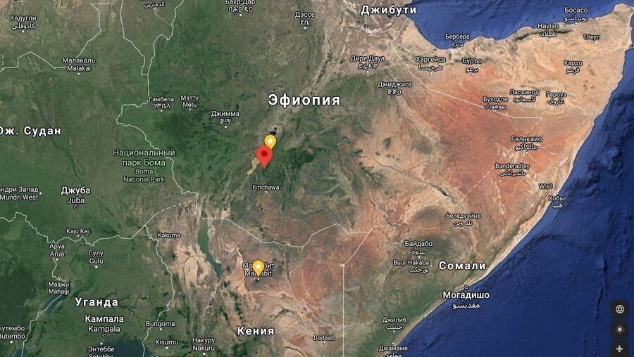 Эфиопия Иргачеффе Арича