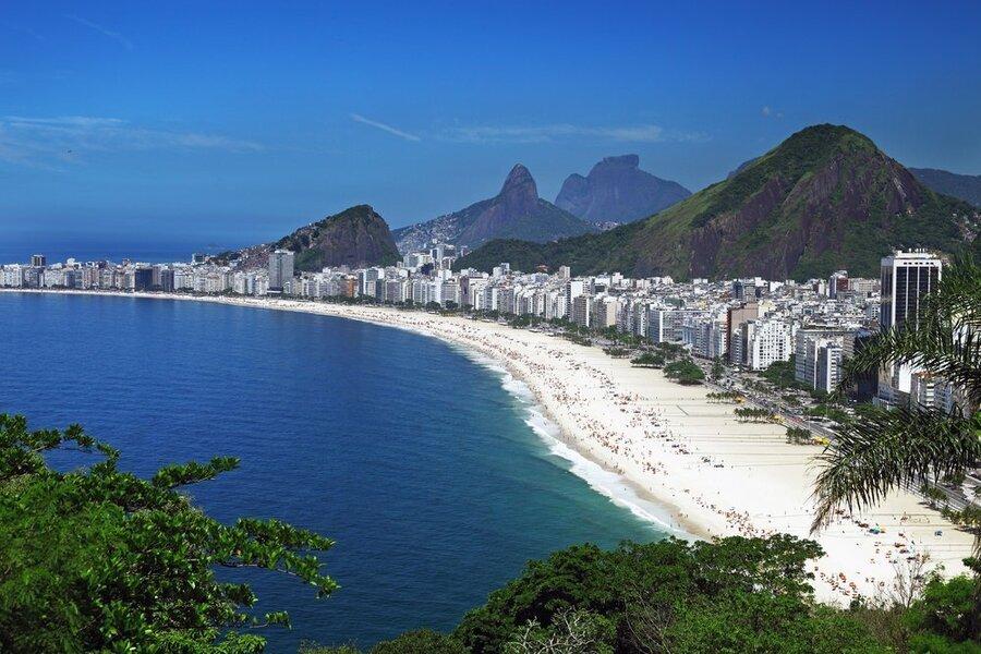 Бразилия Ипанема Руби